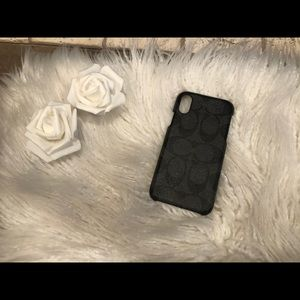 Coach Signature Canvas IPhone XS Case